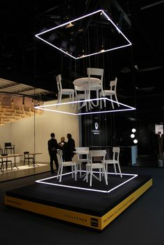 Time tunnel at imm cologne 2014 #exhibitdesign #tradeshow #eventprofs