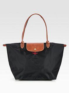 Longchamp - Personalized Le Pliage Tote - Saks.com