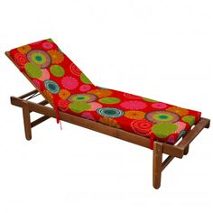 Matelas bain de soleil imprimé Tahiti (Multicolore) - Homemaison : vente en ligne matelas bain de soleil Tahiti, Outdoor Furniture, Outdoor Decor, Decoration, Sun Lounger, Unique, Peps, Fixation, Motifs