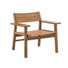 Djuro Lounge Armchair - Teak