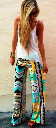 Aztec print...loveeeeeeeee this whole outfit!!!!!