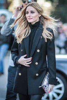 Olivia Palermo - Paris Fashion Week street style - March 3, 2016 - HarpersBAZAAR.co.uk