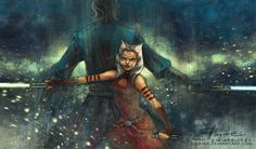 Ahsoka Tano & Anakin Skywalker aka one of the most beautiful Star Wars bonds that is not romantic but still gets you emotionally. Inspired by Star Wars: The Clone Wars by Dave Filoni. It'...
