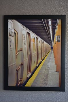 NYC Subway 16x20 Print by SaraDeToneDesigns on Etsy