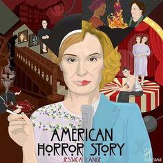 American Horror Story #AHS #JessicaLange