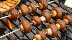 Barbecue: Honing-balsamico champignons - Lovemyfood.nl