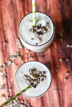 Guinness and Bailey's MilkShake  | lemonsforlulu.com