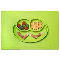 Bandeja de silicona con plato The Happy Mat lima