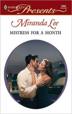 Mistress for a Month  by Miranda Lee