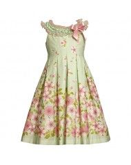 Baker By Ted Baker Girl S Pink Peony Flower Dress At