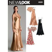 New Look 6531 Women's Evening And Bridal Wear