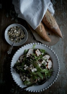 salad & bread perfection    Marie Elisabeth's rum