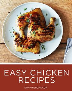Easy Chicken Recipes That Will Pretty Much Rock Your World