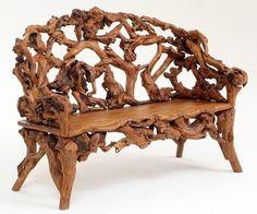 Необычная мебель из корней и коряг, 18-20 век | Достопримечательности мира