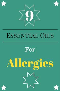 Allergies are an all too common complaint. Learn how to use your favorite essential oils to treat your allergies effectively and safely. Essential Oils Allergies, Essential Oils For Cough, Oils For Sinus, Essential Oil Uses, Young Living Oils, Young Living Essential Oils, How To Treat Allergies, Cold Urticaria, Eczema Remedies