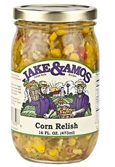 Jake and Amos Corn Relish (Two Pack) ** To view further, visit : Quick dinner ideas