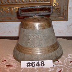Antique Vintage 1890 P. J. Frautschi Brass Ship's Bell by VigorouslyVintage on Etsy