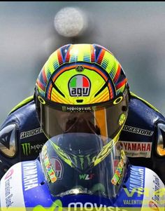 Face to face with Valentino Rossi at sachsenring 2014 You can just about see the concentration in his eyes!