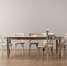french play table - i can see the tea parties now. Dining Room Chairs, Table And Chairs, Dining Table, Snug Room, Restoration Hardware Baby, French Table, Play Table, Aging Wood, French Empire