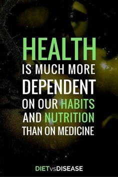 Image result for health doesn't always come from medicine quotes