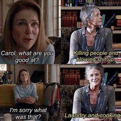The Walking Dead Carol funny meme