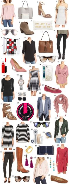 The best deals from the Nordstrom Sale + a chance to win a Gucci GG Marmont Matelassé Mini Bag giveaway | Florida fashion blogger Ashley Brooke Nicholas | Ray-Ban Wayfarer sale | Rebecca Minkoff, Sam Edelman, BP moto leggings, BlankNYC faux leather moto jacket, Vince Camuto, Bow & Drape, reversible tote bag, clothes with bow details, Kate Spade, Tory Burch, Butter London nail polish, MAC liquid lipstick, Estee Lauder advent calendar | best sale items | best fashion deals