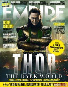 "Empire Magazine cover for Marvel's ""Thor: The Dark World""  More on Marvel.com: http://marvel.com/news/story/21079/behold_13_new_images_from_marvels_thor_the_dark_world#ixzz2cpCjpKPc"