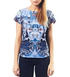 Engine - all over digitally printed tshirt on Etsy, $49.86