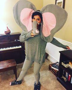 DIY Elephant Costume #diy #elephant #costume #elephantcostume #halloween #homemadecostume #halloweencostume