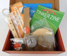 awesome Tinker Crate — August 2016 Review & 50 % Off Coupon