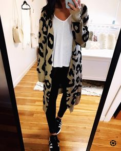 """best website a554d 23010 emma  boston fashion blogger on Instagram """"yall this amazon prime  leopard cardi has been in my closet for months now + i dont think ive  ever shared it ..."""