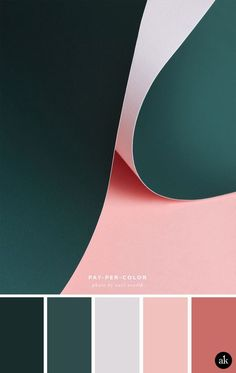 Pink and teal interior colour palette inspiration Color Schemes Colour Palettes, Green Color Schemes, Green Colour Palette, Green Colors, Green Pallete, Pink Palette, Pantone Colour Palettes, Modern Color Palette, Green Bedroom Colors