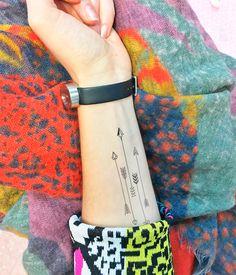 Tattoos - Flechas - Tatuaje temporal (conjunto de 2) - hecho a mano en DaWanda.es