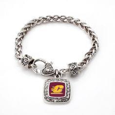 Central Michigan University Classic Braided Bracelet