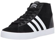 more photos 9b0dc ef6bc New adidas adidas Womens CF Daily QT Mid W Sneaker, BlackWhiteSuper