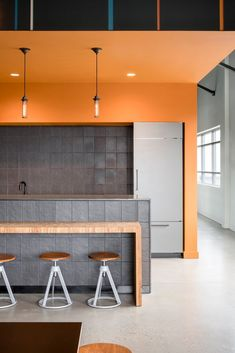 Maletis Beverage Offices - Portland - 8 The Effective Pictures We Offer You About Commercial Archite Office Break Room, Office Bar, Office Lobby, Blue Office, Open Office, Office Ideas, Interior Work, Office Interior Design, Office Interiors