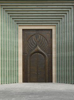 Explore incredible architecture across Qatar in a beautiful new book Minimalist Architecture, Islamic Architecture, Architecture Details, Interior Architecture, Interior And Exterior, Classical Architecture, Contemporary Architecture, Cool Doors, Unique Doors