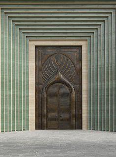 Explore incredible architecture across Qatar in a beautiful new book Door Entryway, Entrance Doors, Doorway, Foyer, Cool Doors, Unique Doors, Islamic Architecture, Architecture Details, Classical Architecture