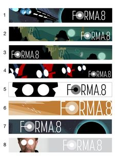A selection of banners for forma.8