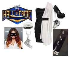 """""""WWE Hall of Fame w/ Dean Ambrose"""" by lola-guadalupe-delgado ❤ liked on Polyvore featuring Elise Ryan"""