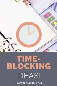 Save time and be more productive with this time-blocking schedule for busy mothers! Learn how to time-block and get organised now Hourly Planner, Planner Tips, Printable Planner, Planner Stickers, Parent Resources, Setting Goals, Getting Things Done, Time Management, Getting Organized