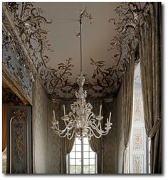 The Amalienburg is one of the most exquisite creations in the European Rococo style.