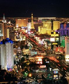 One of my favorite places in the whole world. Can't wait to go back in a couple weeks. Vegas is my happiest place on earth.