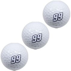 Carl Edwards 3-Pack of Golf Balls - $7.99