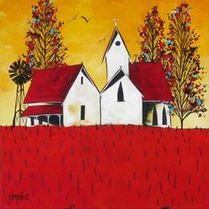 Artwork of Glendine exhibited at Robertson Art Gallery. Original art of more than 60 top South African Artists - Since Africa Art, Naive Art, Small Art, House Painting, Graphic Design Art, Home Art, New Art, Decoupage, Art Projects