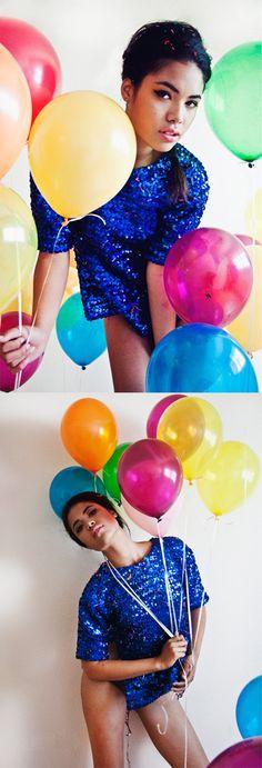 Photoshoot inspiration: Balloons.
