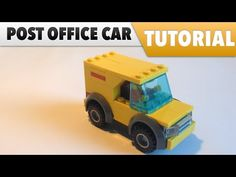 Tutorial ✔️ How to make a LEGO Post Office car - YouTube