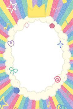 Cute Emoji Wallpaper, Cute Patterns Wallpaper, Cute Cartoon Wallpapers, Iphone Wallpaper, Happy Birthday Template, Instagram Frame Template, Printable Scrapbook Paper, Photo Collage Template, Cute Frames