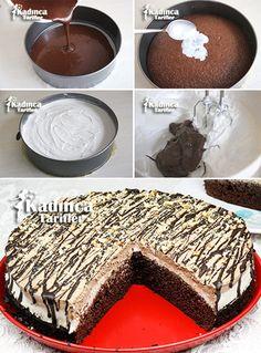 Nutellalı Islak Pasta Tarifi