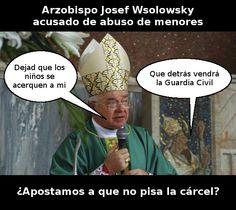 Pederasta enrólate en la iglesia católica